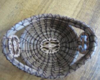 Miniature Accent Pine Needle Basket