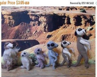 40% OFF SALE knitting pattern only-Meerkat Family toy animal pdf download knitting pattern