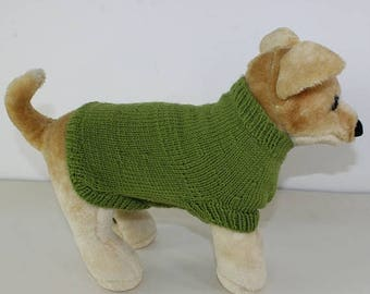 40% OFF SALE madmonkeyknits - Dog Coat CIRCULAR knitting pattern pdf download - Instant Digital File pdf knitting pattern