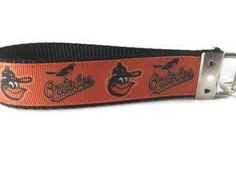 Baltimore Orioles, Key fob, Wristlet, Keychain