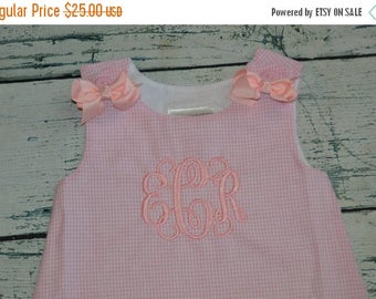 ON SALE Custom Boutique A-Line Jumper Dress Aline Personalized Monogrammed