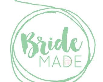 Premade Logo Wedding Blog/Boutique Design