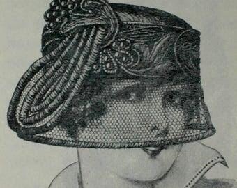 Make EDWARDIAN Goth Mourning Millinery Hat Making background History Steampunk
