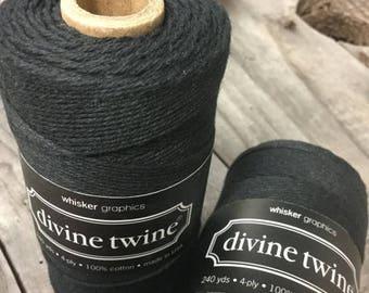 25% Off Summer Sale Full Spool - 240 Yards - Black - Baker's Twine