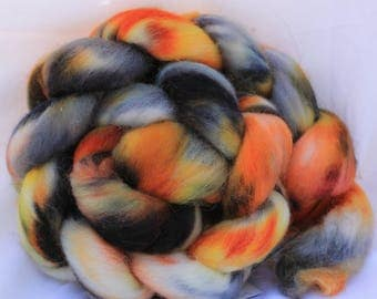 Hand painted polworth 4 oz 115 grams #43