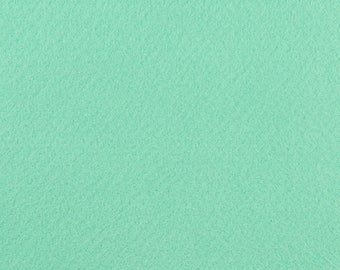 "Mint Acrylic Craft Felt by the Yard - 1/16"" Thick, Available Plain (72"" Wide) or with a Peel-and-Stick Adhesive Backing (36"" Wide)"