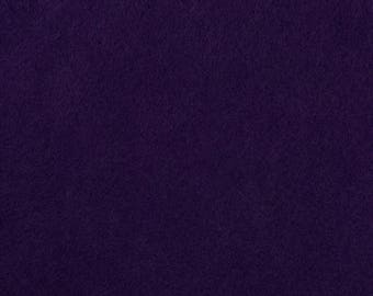 "Purple Acrylic Craft Felt by the Yard - 1/16"" Thick, Available Plain (72"" Wide) or with a Peel-and-Stick Adhesive Backing (36"" Wide)"