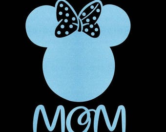 SALE Minnie Mouse Mom SVG JPEG instant digital file download for vinyl cutters