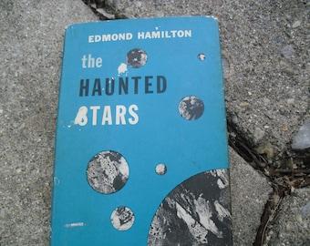 Vintage Book The Haunted Stars by Edmond Hamilton