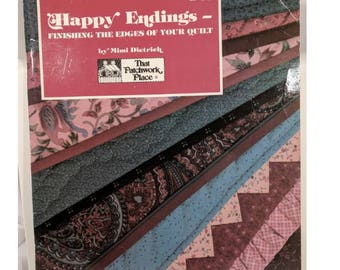 Happy Endings by Mimi Deitrich first edition 1987