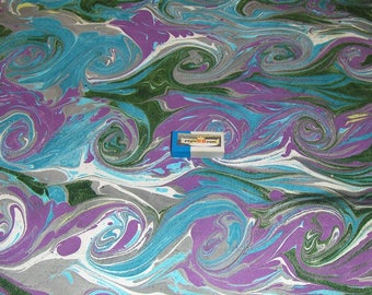 marbled paper, マーブル紙