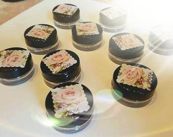 Rose Flower Solid Perfume Balm
