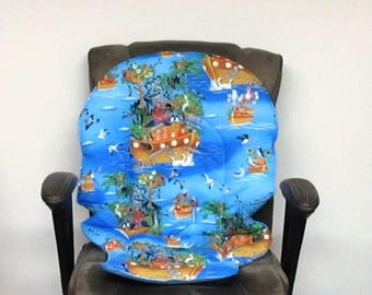 Graco Duodiner or Graco Blossom high chair cushion, baby accessory replacement pad, kids furniture, baby feeding chair pad, Noahs birds