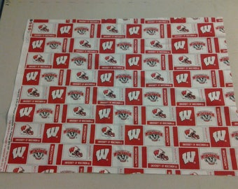 University of Wisconsin Badgers Fabric 247998