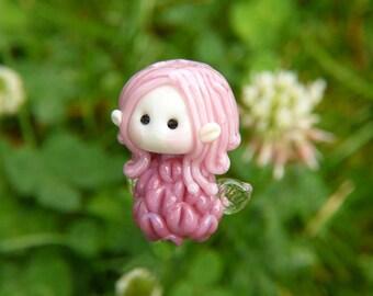 Little Clover Fairy glass bead