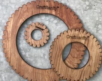CraftSanity Circular Weaving 3-Loom Set