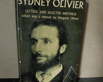 Vintage Book  Sydney Olivier 1st Edition 1948 - English Publication - Great Britain History Politics