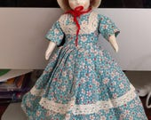 Vintage Ruth Gibbs Godey's Little Lady doll