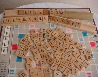 Scrabble Game 1953  Selchow & Righter Company, NY Vintage Scrabble Game Complete in Original Box
