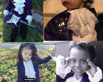 Toddler Prince Purple Rain Costume 3 Piece, Build Your Costume