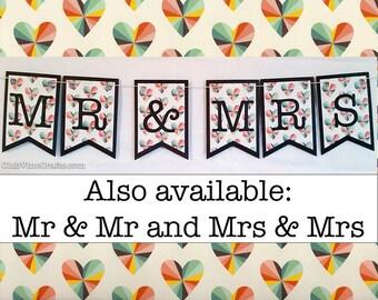 Mr & Mrs Banner - Prism Hearts Design