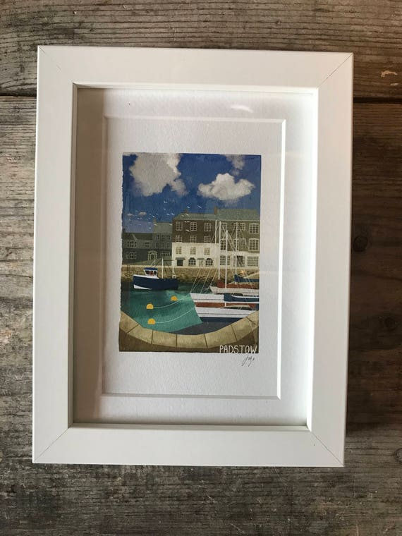 SALE! Padstow - Mini Framed Print