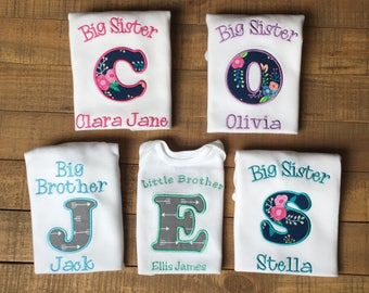 Big Sister Little Brother Shirt - Big Sister Shirt - Promoted to Big Sister Shirt - BIg Sister Little Sister Outfit