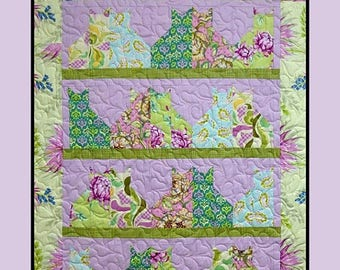 Cat Quilt Pattern Etsy