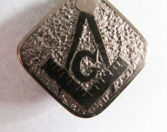"Vintage Masonic / Odd Fellows ""Fob Ornament"","