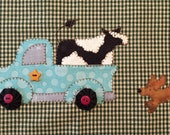 Farm Delivery PDF pattern from Quilt Doodle Designs