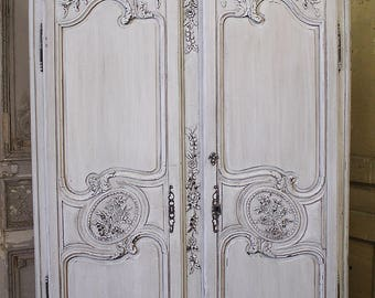 19th Century Antique French Normandy Armoire