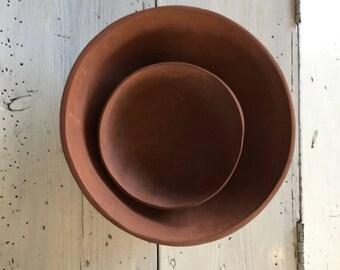 Aardewerken schalen, ceramic bowls