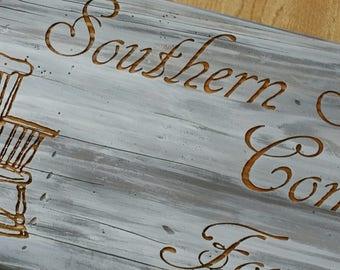 Southern Stress Relievers Sign - Rocking Chairs - Southern Saying Sign- Porch sign - Sit a spell