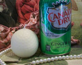 """Golf Ball Candle Beeswax 2 1/4"""" Tall Choice Of Color"""