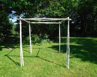Premium Chuppah/ Birch Wedding Arch
