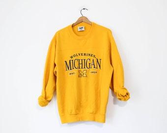 Vintage University of Michigan Wolverines Sweatshirt