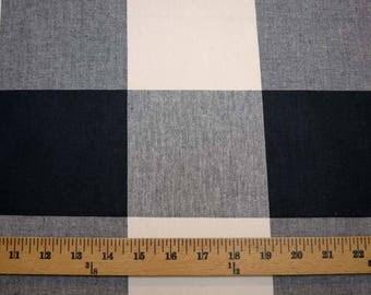 Buffalo Check Jet Pkaufmann Fabric