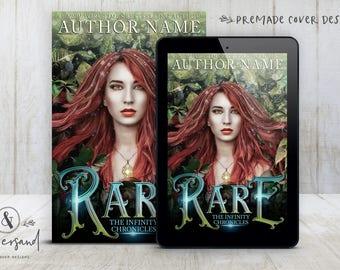 "Premade Digital eBook Book Cover Design ""Rare"" YA Fantasy Young Adult Romance Urban Fantasy Paranormal New Adult Fiction"