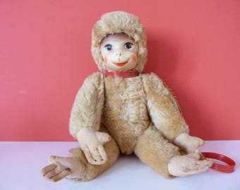 Monkey Toy Vintage Schuco Groovy Pet