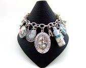 Alice in Wonderland Bracelet- Alice Charm Bracelet- Wonderland Jewellery- Alice Jewellery- Book Jewellery- Literary Jewellery- Gift for Her