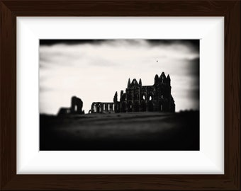 Ruins of Whitby Abbey, North Yorkshire, England A3 Photographic print