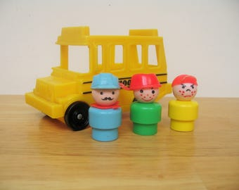 Fisher Price Little Yellow School Bus