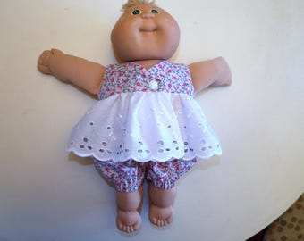 Cabbage Patch Preemie 2 piece Outfit