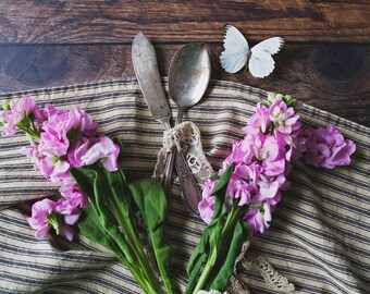 Purple & Butterfly ~ 8x10 photo print