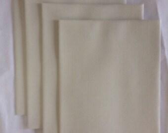 Antique Gray Linen A6 Envelope Set
