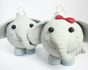 Elephant Christmas Decorations