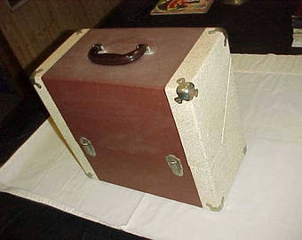 Hard Case Record Storage Box for Vinyl 33 and 45 Records