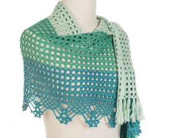 Crochet pattern : Maryse Shawls