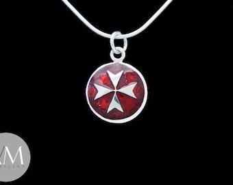 Maltese Cross Pendant [02]