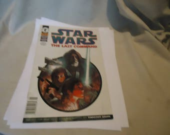 Vintage 1997 Star Wars The Last Command Comic 1 of 6, collectable